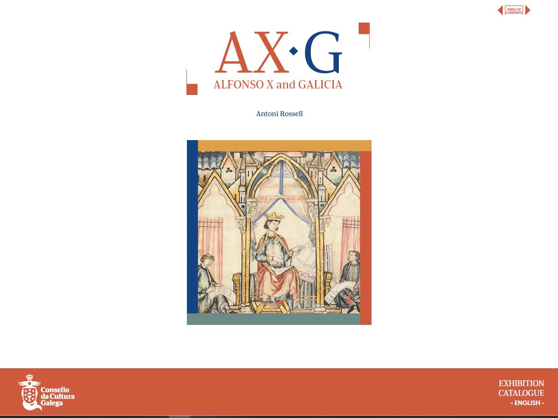 Portada de  AX-G. Alfonso X and Galicia