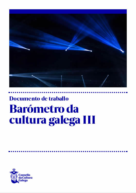 Portada de  Barómetro da cultura galega III