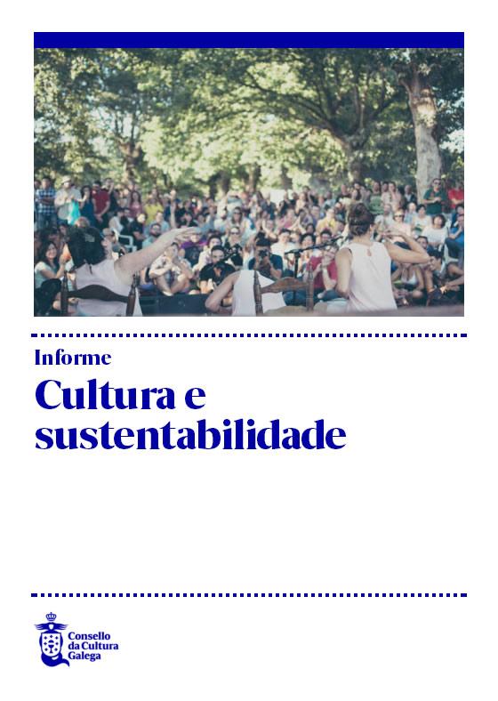 Portada de  Cultura e sustentabilidade