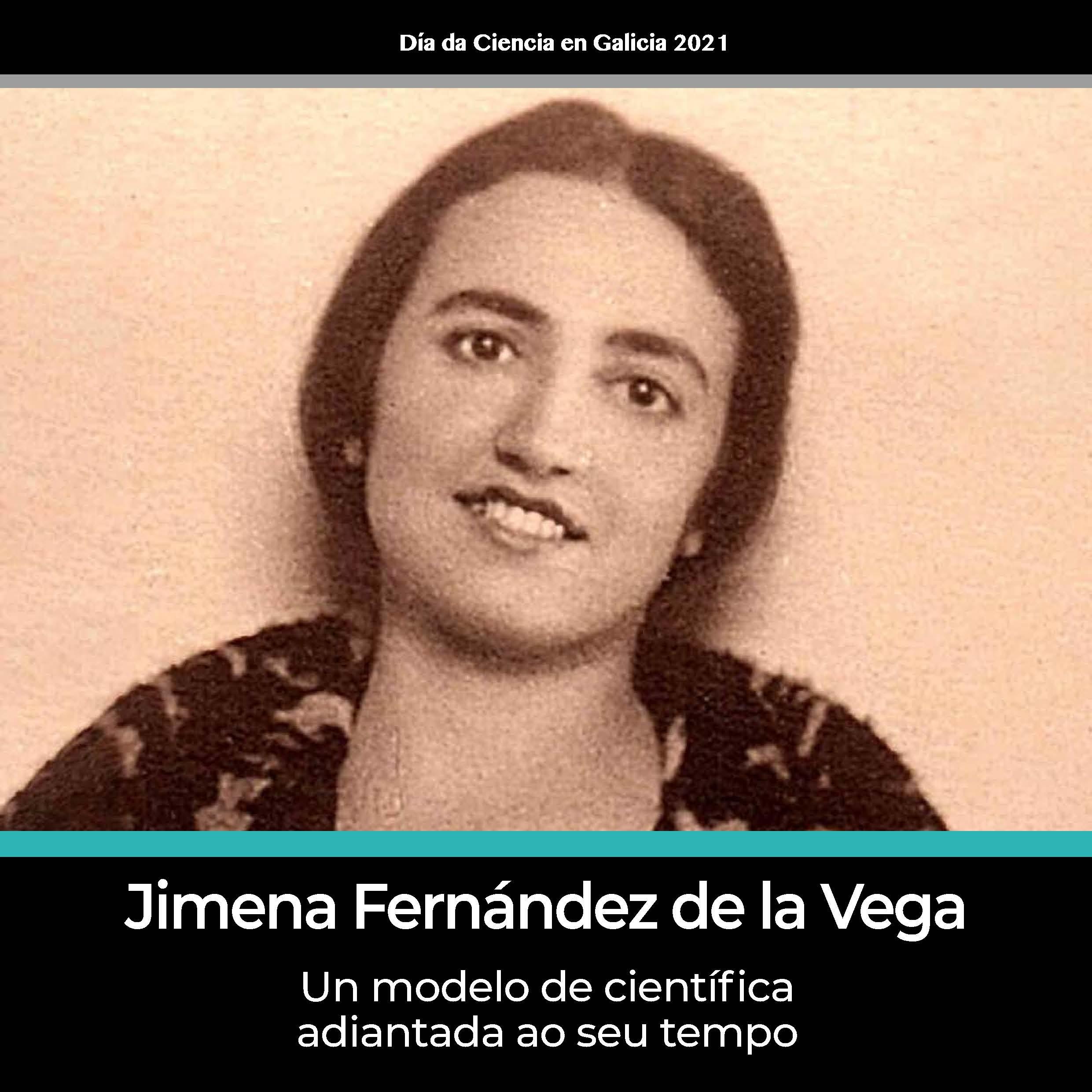 Portada de  Jimena Fernández de la Vega