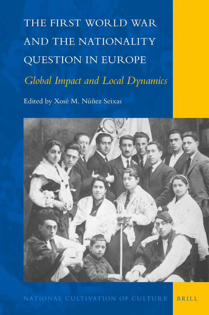 Portada de   The First World War and the Nationality Question in Europe