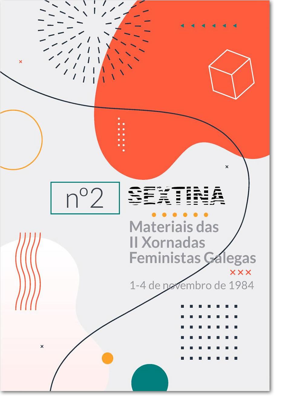 Portada de  Materiais das II Xornadas Feministas Galegas, 1-4 de novembro de 1984