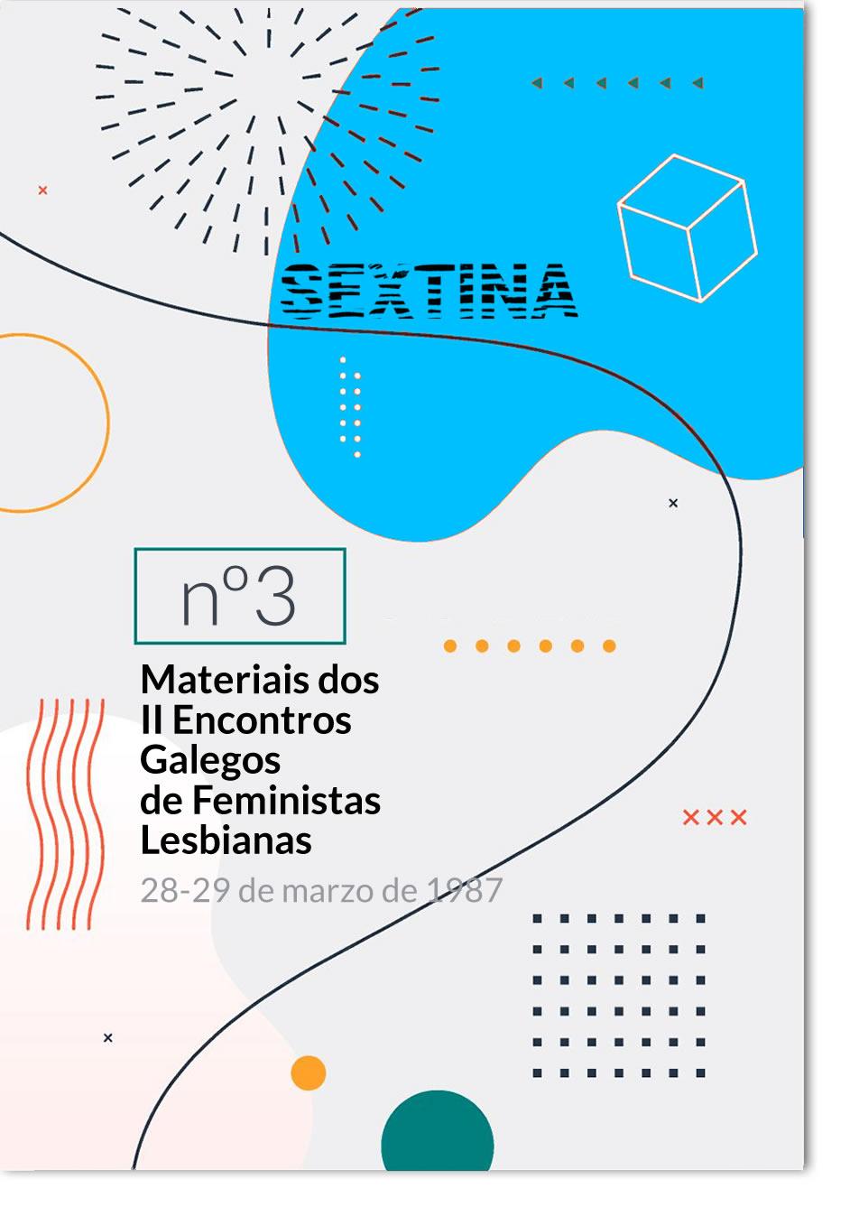 Portada de  Materiais dos II Encontros Galegos de Feministas Lesbianas, 28 e 29 de marzo 1987