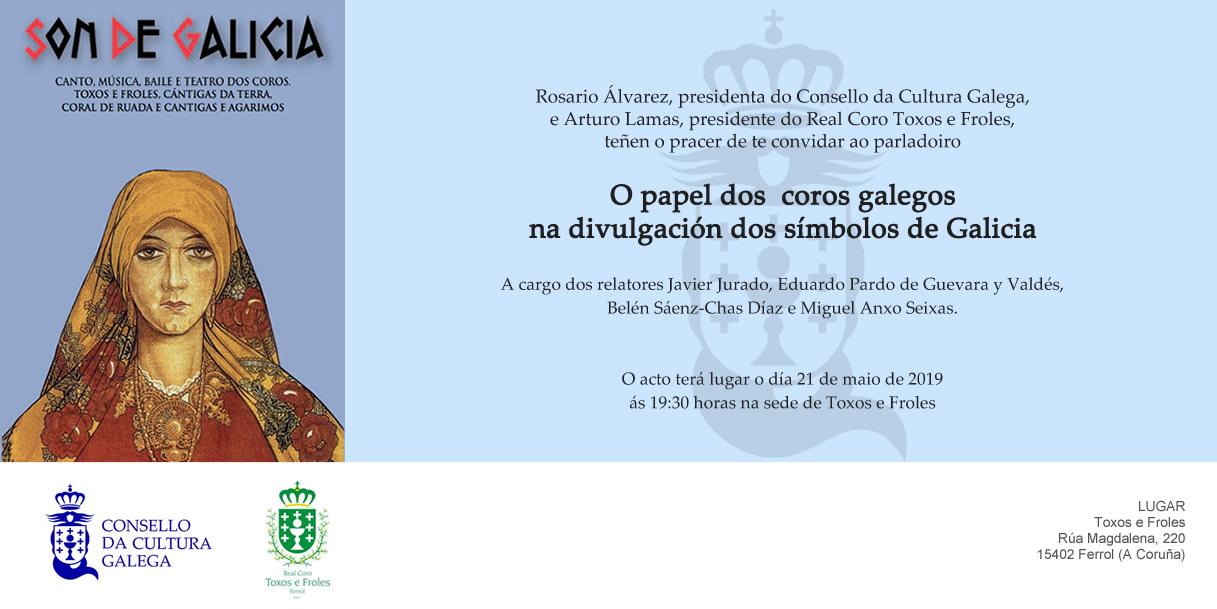programa: O papel dos coros galegos na divulgación dos símbolos de Galicia