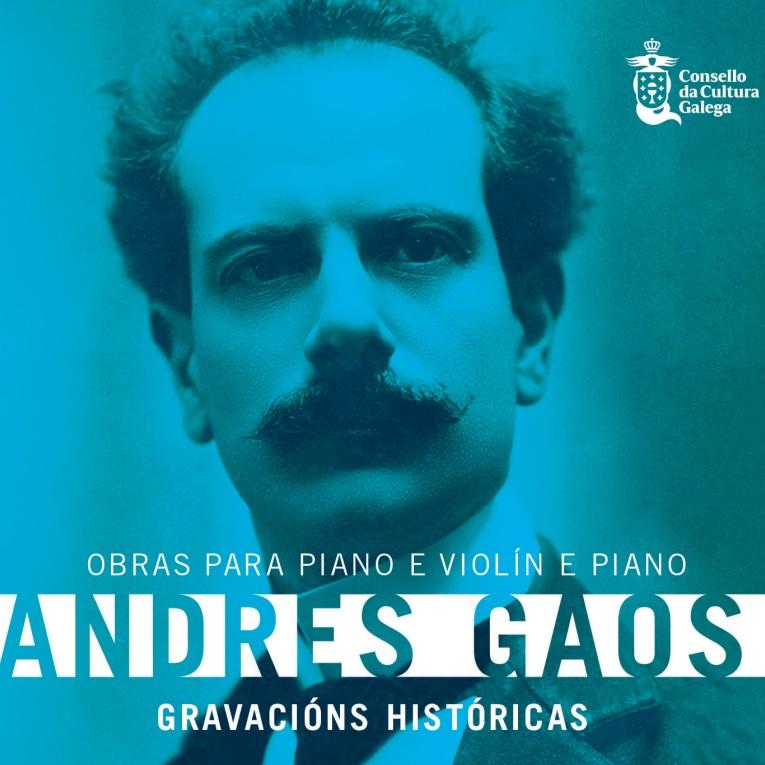 PRESENTACIÓN CD Andrés Gaos. Obras para piano e violín e piano. Gravacións históricas