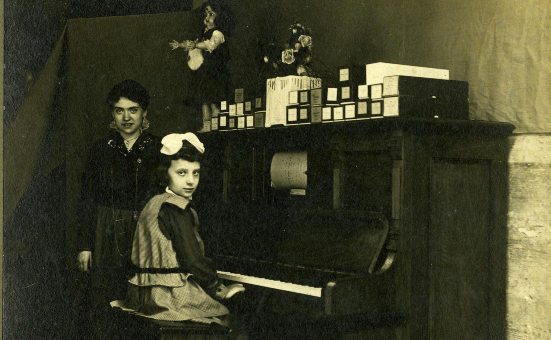 Un achegamento á historia da música mecánica
