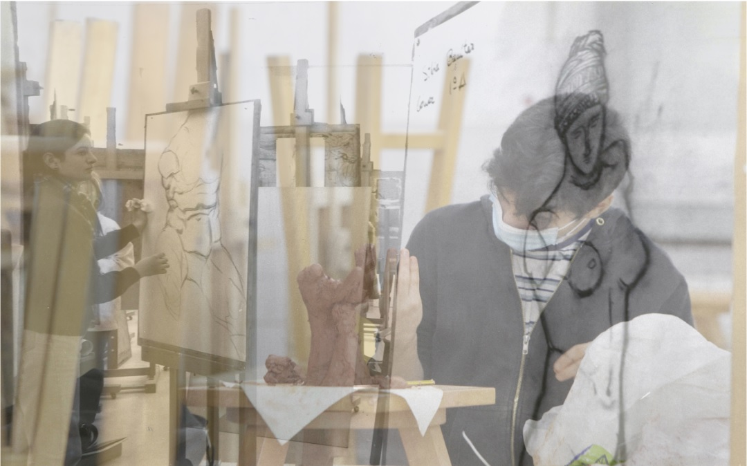 A Facultade de Belas Artes de Pontevedra 30 anos despois
