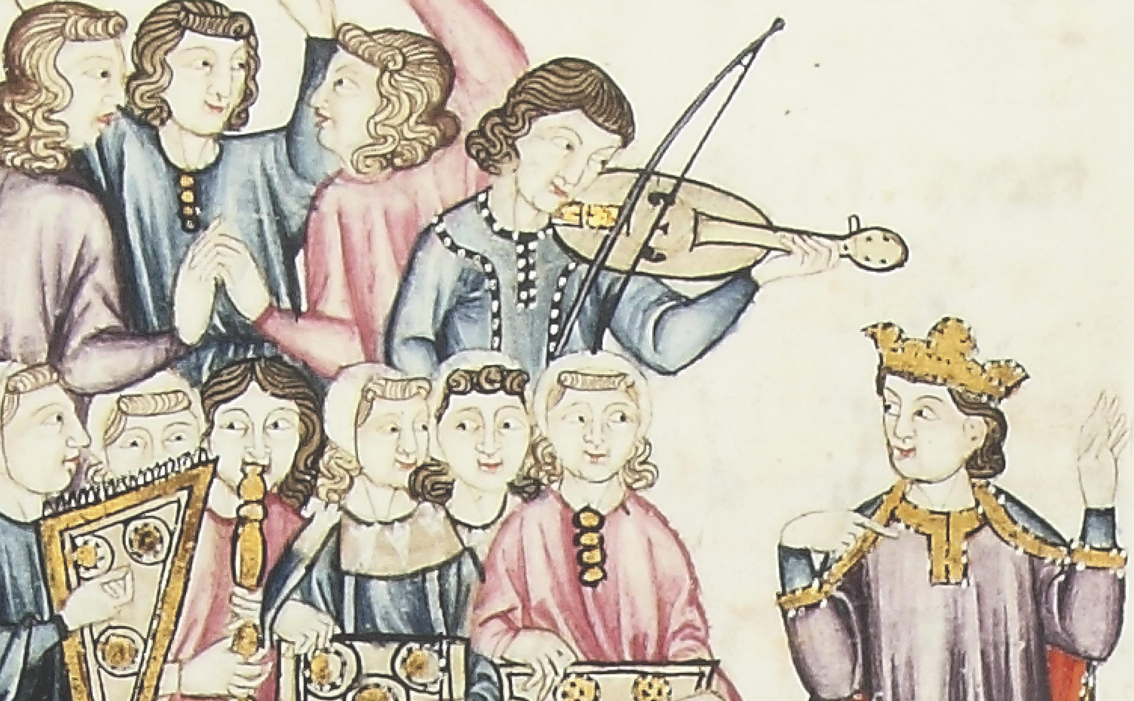 A música afonsina en Galicia