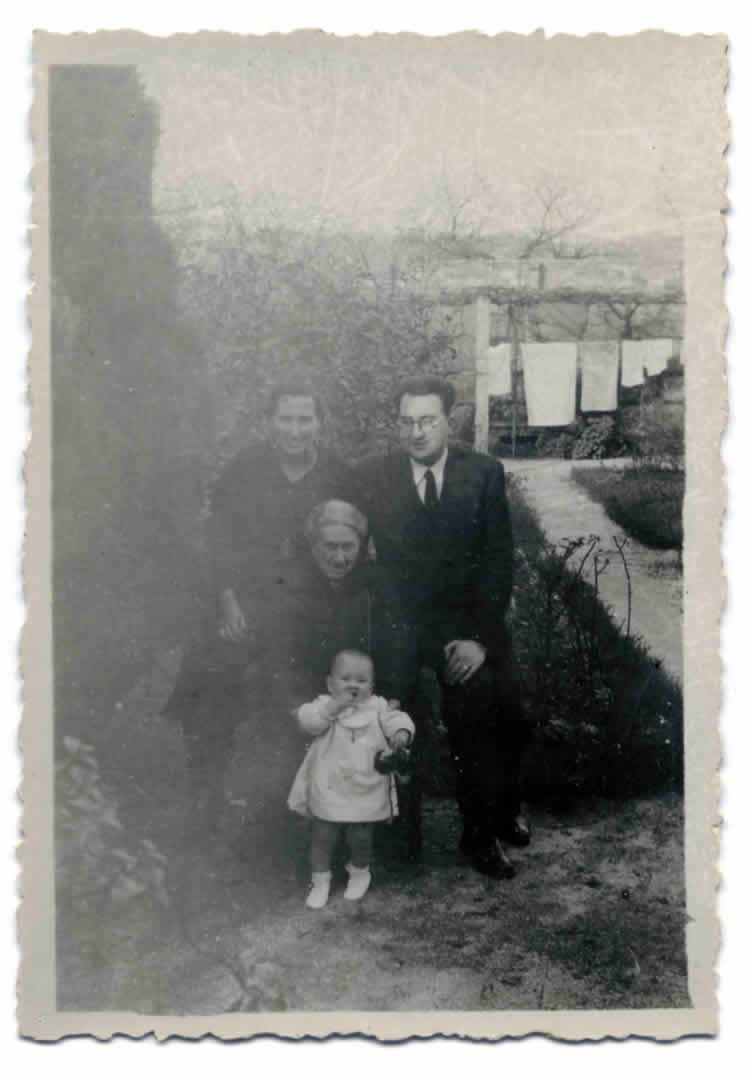 Foto familiar de Filgueira Valverde