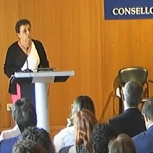 Toma de posesión como Presidenta do Consello da Cultura Galega por parte de Rosario Álvarez