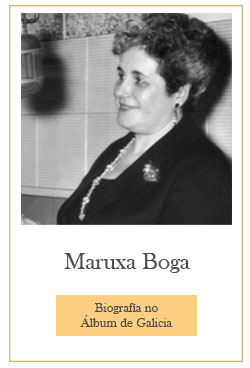 Maruxa Boga no Álbum de Galicia