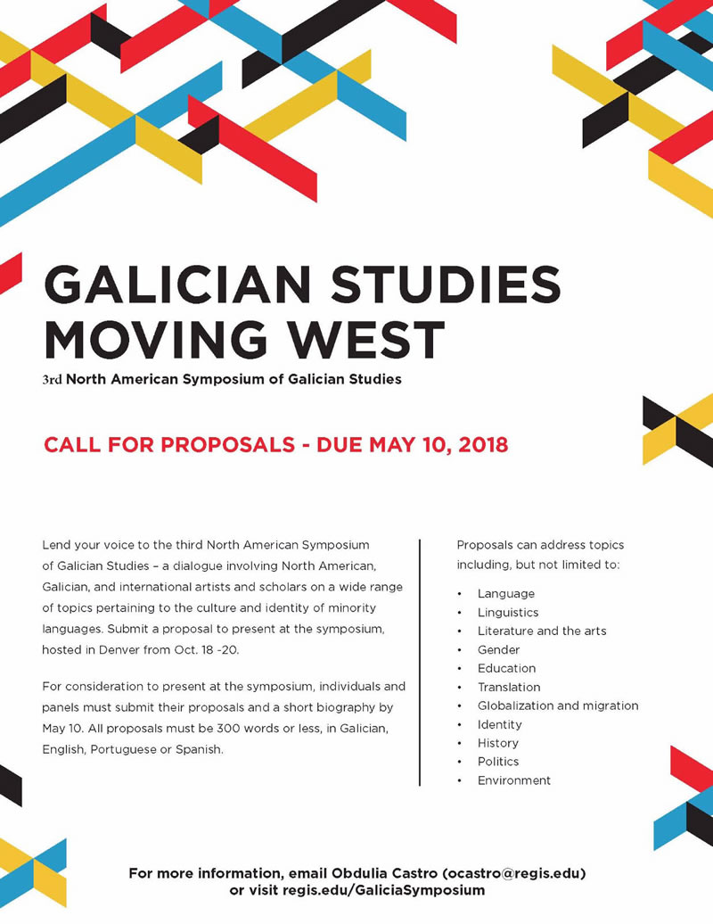 Galician Studies moving west