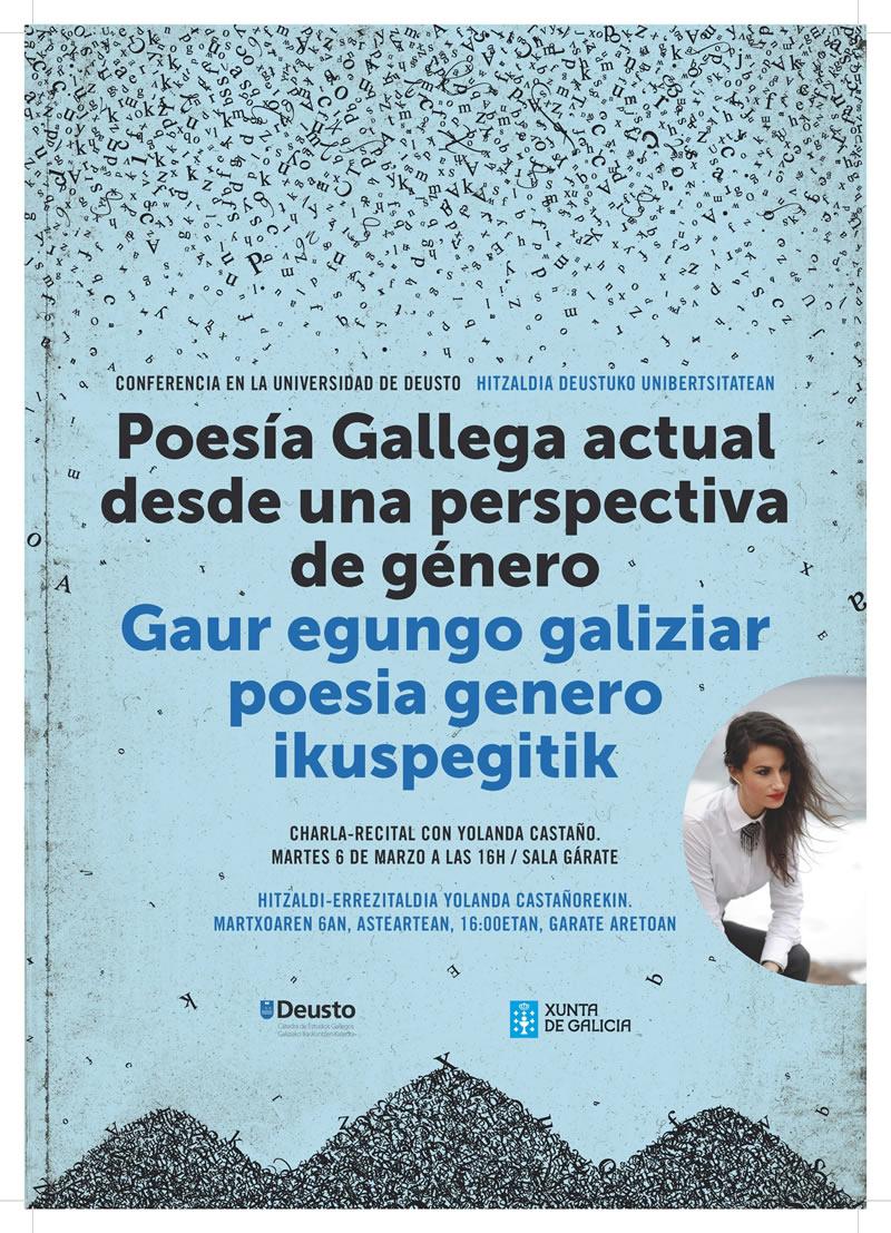 Poesía galega actual desde unha perspectiva de xenero