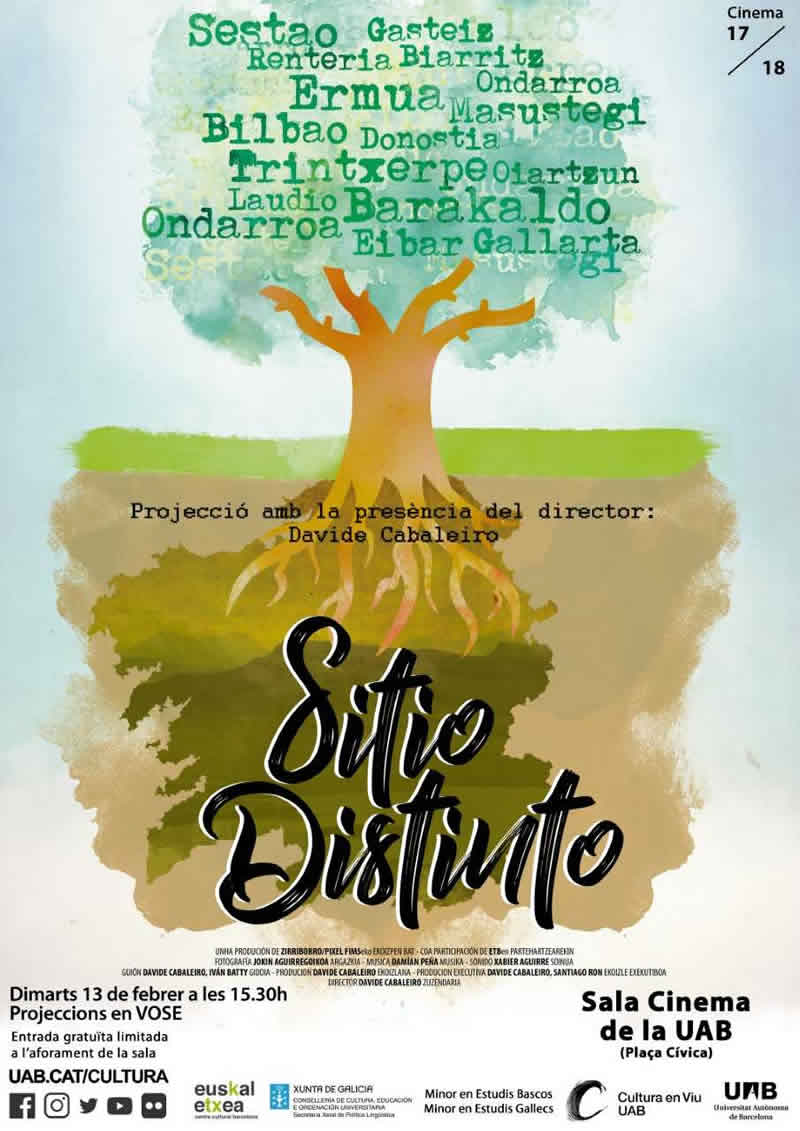 Documental Sitio distinto