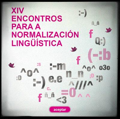 XIV Encontros para a Normalización Lingüística