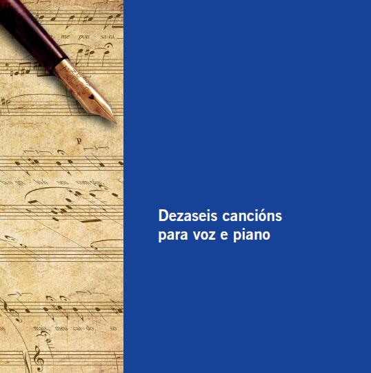 Presentación do libro «Dezaseis cancións para voz e piano»