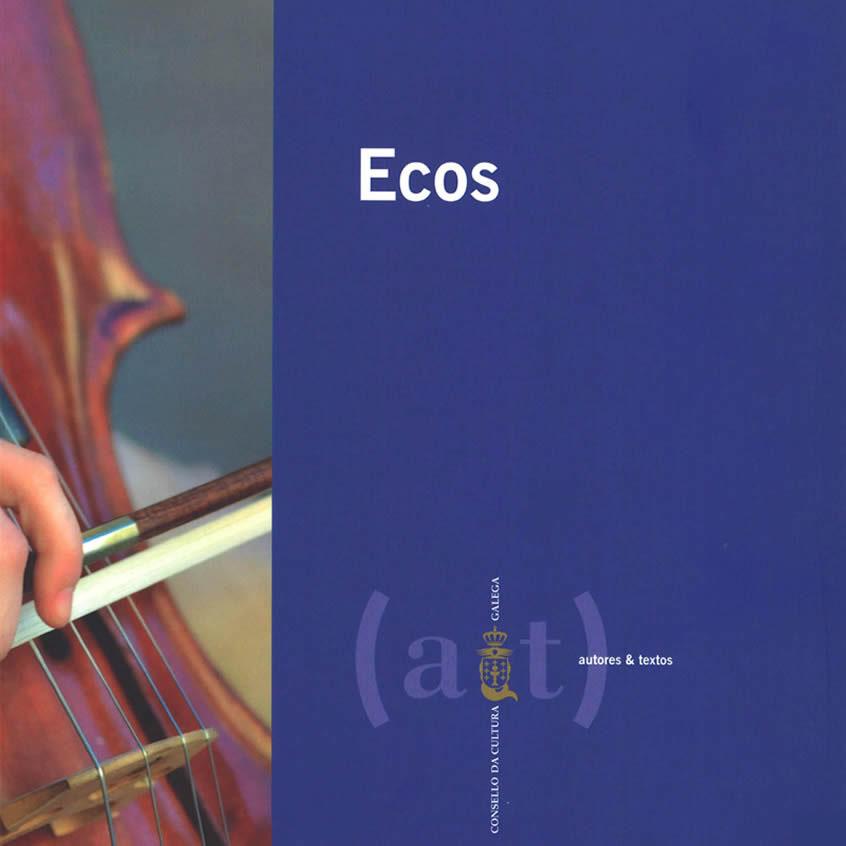 Libro: «ECOS» de Antonio Cerviño