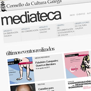 Renovación da mediateca do CCG