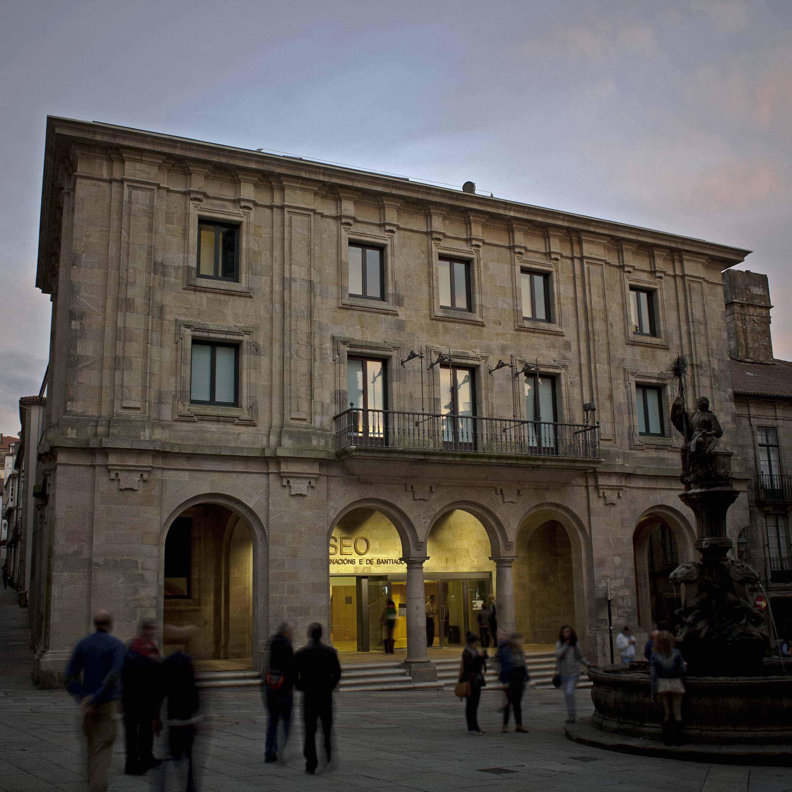 A ampliación do Museo das Peregrinacións e de Santiago e a instalación da Exposición Permanente na nova sede da Praza das Praterias