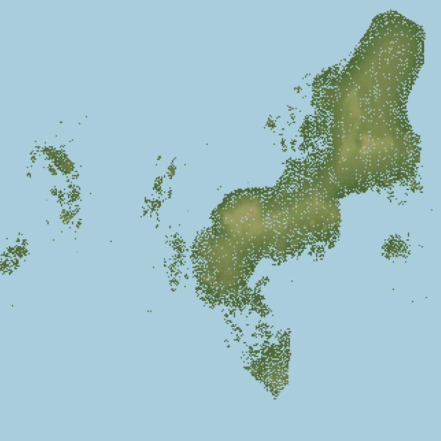 Guidoiro Areoso. A illa patrimonio