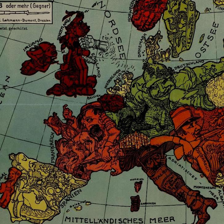 O contexto internacional das Irmandades da Fala. As nacionalidades na Europa de entreguerras: De Imperios a nacións