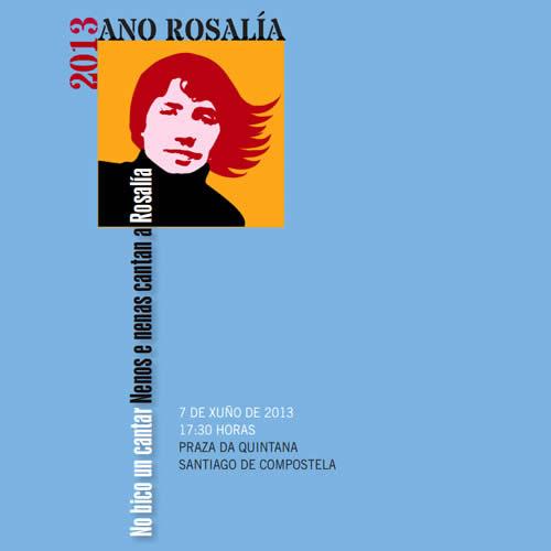 No bico un cantar. Nenos e nenas cantan a Rosalía