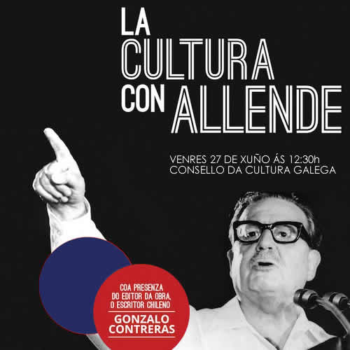 Presentación do libro «La Cultura con Allende»